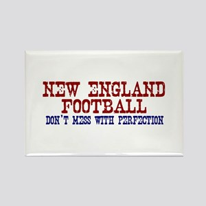 New England Football Perfection Rectangle Magnet