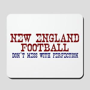 New England Football Perfection Mousepad