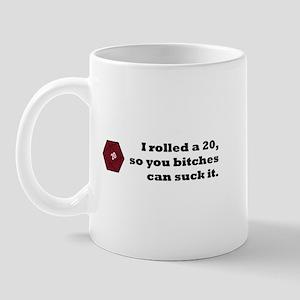I rolled a 20 Mug