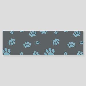 Paw Prints Sticker (Bumper)