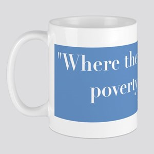 Blbby Kennedy on Poverty Mug