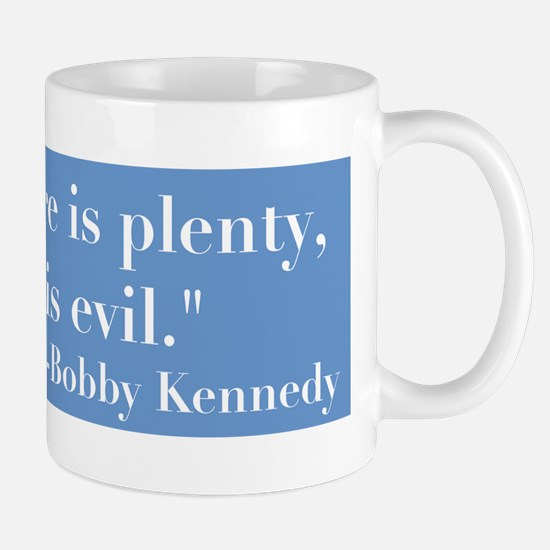 Blbby Kennedy on Poverty Mug