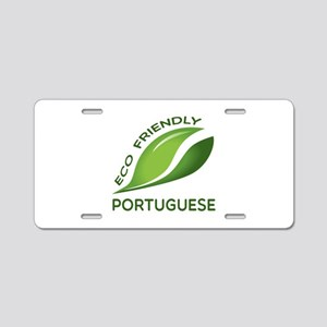 Eco Friendly Portuguese Cou Aluminum License Plate
