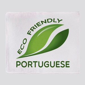 Eco Friendly Portuguese County Desig Throw Blanket