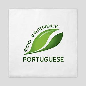 Eco Friendly Portuguese County Designs Queen Duvet
