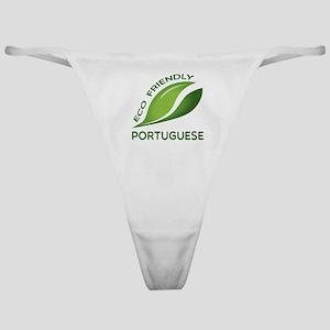 Eco Friendly Portuguese County Desig Classic Thong