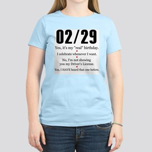 02/29 Answers Women's Light T-Shirt