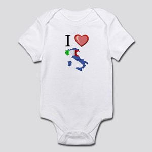 I Love Italy Infant Bodysuit