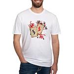 Kokopelli Gambler Fitted T-Shirt