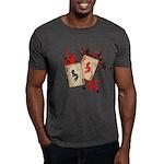 Kokopelli Gambler Dark T-Shirt