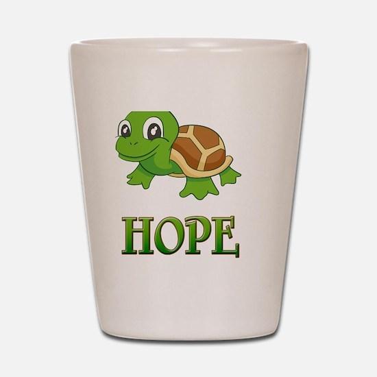 Hopes Shot Glass