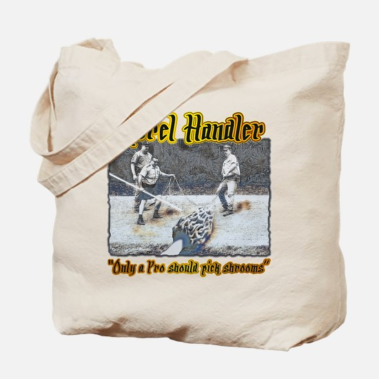 Morel mushroom handler gifts and t-shirts Tote Bag