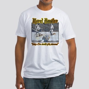 Morel mushroom handler gifts and t-shirts Fitted T