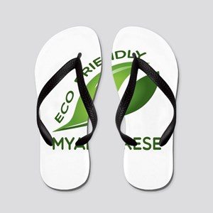 Eco Friendly Myanmarese County Designs Flip Flops
