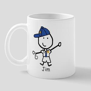 Police - Jim Mug