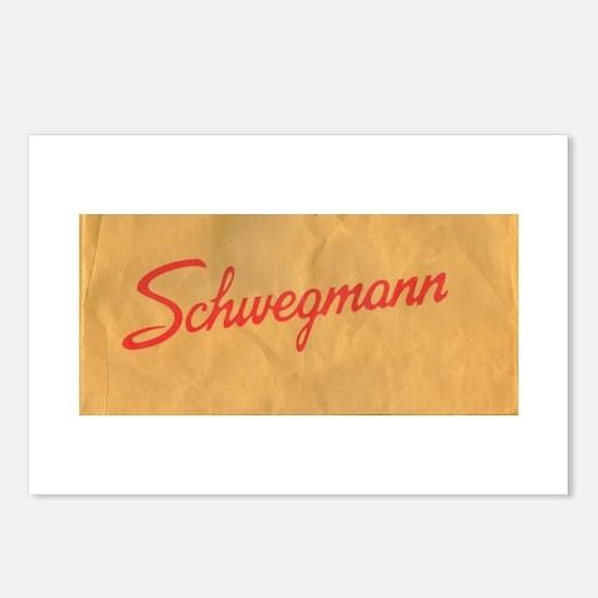 Schwegmann Bag Postcards (Package of 8)