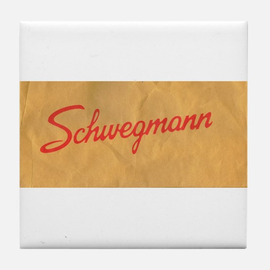 Schwegmann Bag Tile Coaster