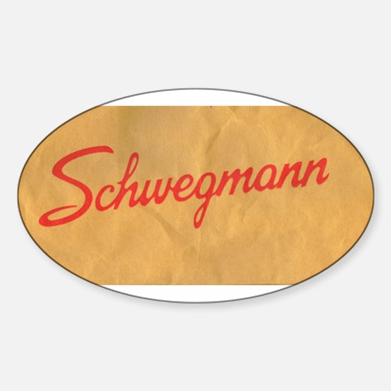 Schwegmann Bag Oval Decal