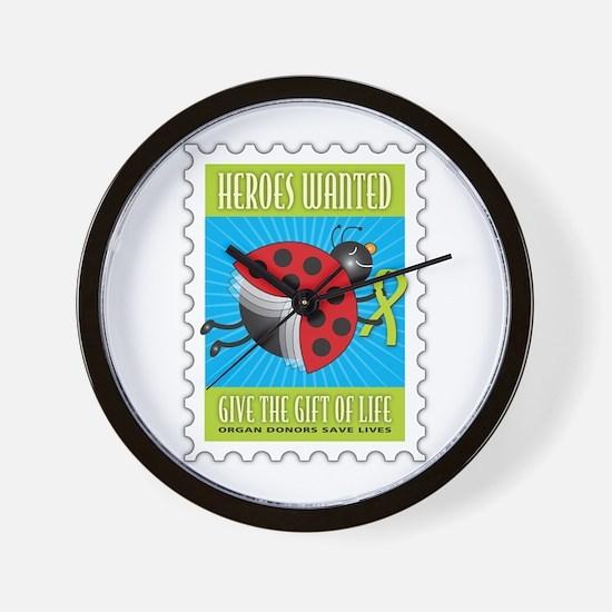 Donor Bug Too Wall Clock