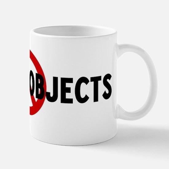 Anti wooden objects Mug