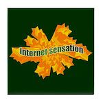Internet Sensation Tile Coaster
