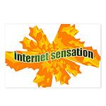 Internet Sensation Postcards (Package of 8)