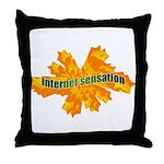 Internet Sensation Throw Pillow