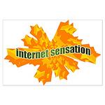 Internet Sensation Large Poster