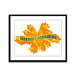 Internet Sensation Framed Panel Print