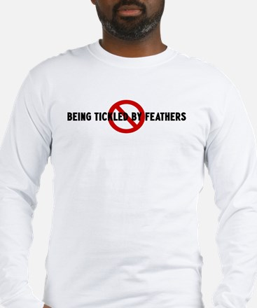 Anti being tickled by feather Long Sleeve T-Shirt