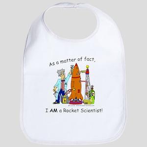 I_am_a_rocket Baby Bib