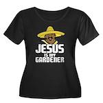Jesus is my gardener Women's Plus Size Scoop Neck