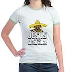 Jesus is my gardener Jr. Ringer T-Shirt