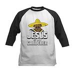 Jesus is my gardener Kids Baseball Jersey
