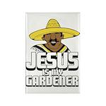 Jesus is my gardener Rectangle Magnet (10 pack)