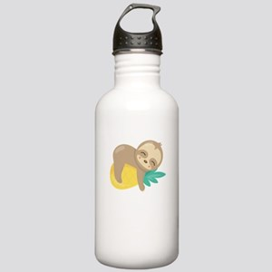Cute Sloth Pineapple Stainless Water Bottle 1.0L