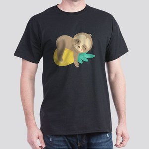 Cute Sloth Pineapple T-Shirt