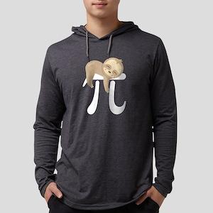 Cute Sloth Pi Day Long Sleeve T-Shirt