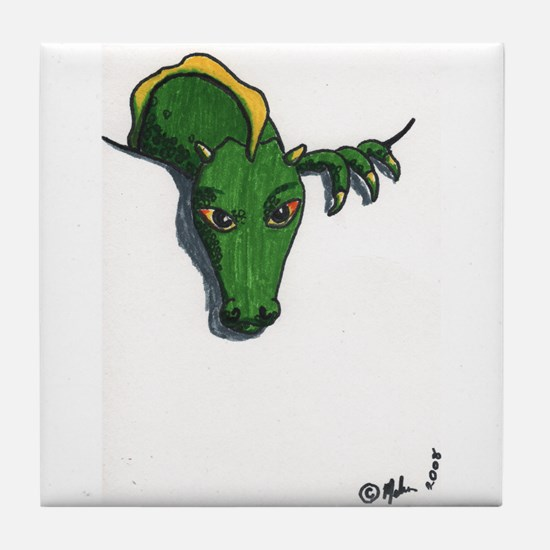 Pocket Dragon Tile Coaster