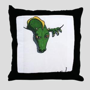 Pocket Dragon Throw Pillow