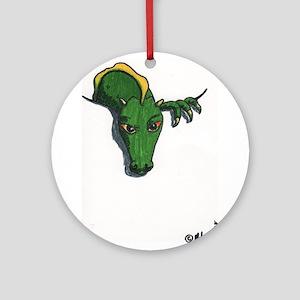 Pocket Dragon Ornament (Round)