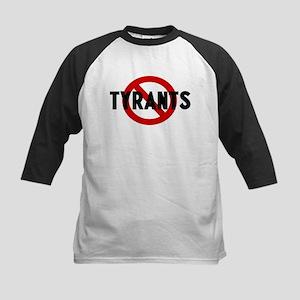 Anti tyrants Kids Baseball Jersey