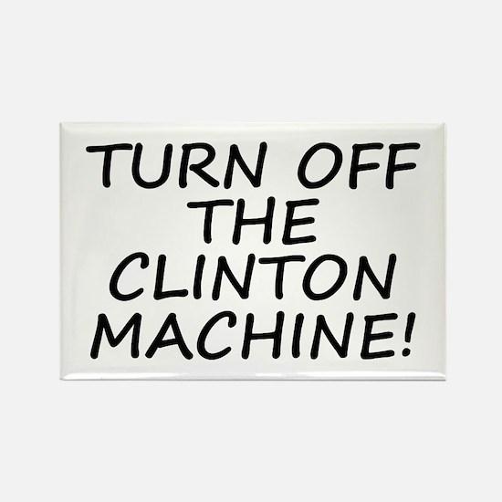 Anti-Hillary & Bill Clinton M Rectangle Magnet