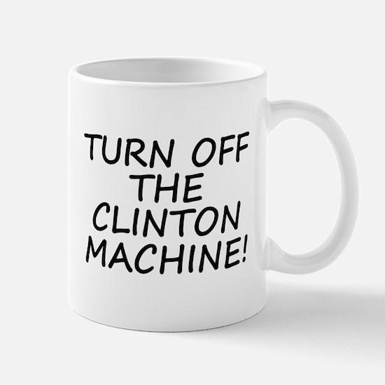 Anti-Hillary & Bill Clinton M Mug