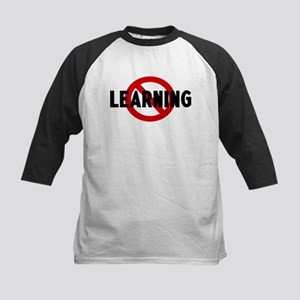 Anti learning Kids Baseball Jersey