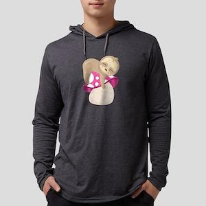 Cute Sloth Mushroom Long Sleeve T-Shirt