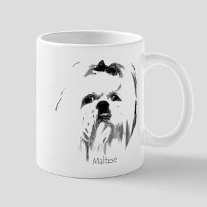 Maltese Face Mug