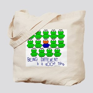 Being Different 1 (FROGS) Tote Bag