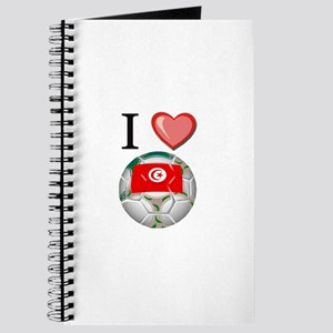 I Love Tunisia Football Journal