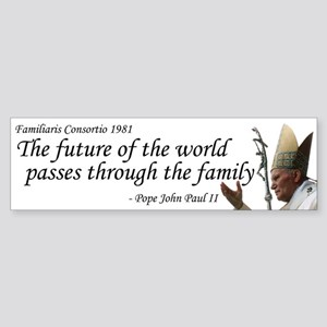 Future of the World Bumper Sticker